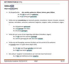 Het preteritum, de v.t.t., de voltooid verleden tijd. Gebruik van ZIJN. & http://docplayer.nl/2755750-1-het-verbum-de-actie-1-1-het-presens-o-t-t.html