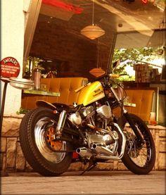 that is a awesome swingarm sportster