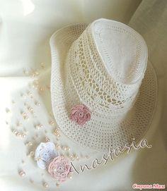 """Всем привет!!!  Меня зовут Дарья, мы начинаем он-лайн по вязанию ажурной шляпки """"Ванесса"""". Автор этой замечательной работы Анастасия http://anastasyamaster.stranamam.ru/"""