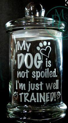 30 Dog And Cat Treat Jar Ideas Treat Jars Dog Treat Jar Cat Treats