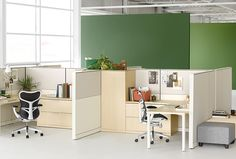 Concept: Accounting OfficeCanvas Office Landscape - Office Furniture System - Herman Miller