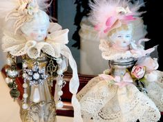 life in my studio: charlotte shaker Dolls