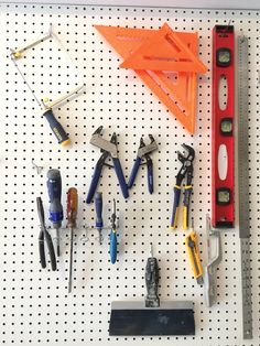 The UDH Workshop: a game plan for organizing a one-car garage for DIY! (via @uglyducklingDIY)