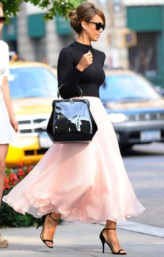 Pastel Pink Outfit Ideas - Pink Outfit Inspiration - Cosmopolitan #fashionoutletnyc
