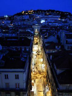 Christmas Lights   Elevador de Santa Justa, Lisboa - Portugal   https://flic.kr/p/NcCLQ8  