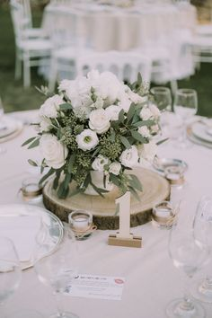12 Simple White and Green Wedding Centerpieces on A Budget -.- 12 Simple White and Green Wedding Centerpieces on A Budget – EmmaLovesWeddings - Anemone Wedding, Floral Wedding, Wedding Bouquets, Wedding Flowers, Wedding White, Tree Wedding, Wedding Card, Boho Wedding, Wedding Shoes