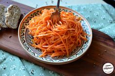 Morcov coreean-salata Spaghetti, Food And Drink, Cooking, Ethnic Recipes, Appetizers, Salads, Kitchen, Noodle, Brewing