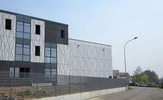 King Inox Headquarters, Italy 2013. Architect: Luigi Corato, prefabrication: Truzzi S.p.a. con socio unico. Photo: Truzzi S.p.a. con socio unico.