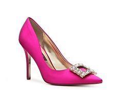 Nina Bonique Pump, available in red