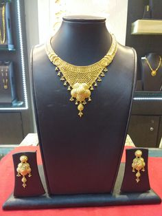 Londe Jewellers 2016 Collection  Exclusively Available at Showroom Weight - 73.540 gms Today's Gold Rate (22kt) - 29,090/-  Model no - 80 Making Charges - 12%  Vat - 1.2% Total Amount - 2,42,474/- As of 17th May 2016  #nagpurjewellers #goldinyou #londejewellers