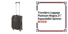 Travelpro Luggage Platinum Magna 21″ Expandable Spinner Suiter Review Define Metal, Metal Detector Reviews, Best Carry On Luggage, Suitcase Set, Luggage Brands, Travel Items, Matalan, Business Travel, Travel Guides