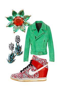 Fall 2012 guide: SARAH SCHUSSHEIM, vibrant colors, florals