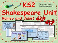 KS2 Shakespeare 5 day Literacy Unit - Romeo and Juliet