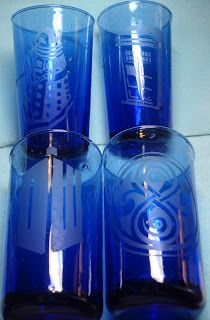 My stuff, my life: Dr Who etched glasses