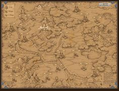 Map for game. by ~Jonik9i on deviantART