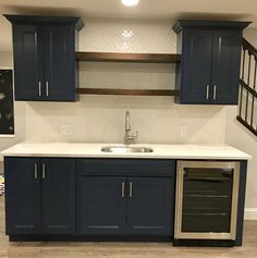 All Details You Need to Know About Home Decoration - Modern Wet Bar Basement, Basement Bar Designs, Home Bar Designs, Basement House, Basement Apartment, Basement Ideas, Basement Finishing, Basement Ceilings, Basement Storage