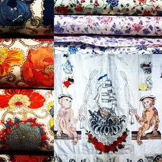"""Liberty prints at @libertylondon #liberty #libertylondon #london #prints #flowers"""
