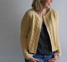 Ravelry: Mae Cardigan pattern by Marie Greene