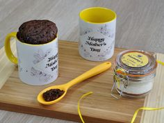 Mothers Day or Mums birthday? Gifts for mum, mummy, mother, mother in law, nana or grandma? My mug cake kit makes a great mum gift, mom gift or girlfriend gift as the clip top glass jar included in the kit can be personalised with any of these names or any other name of your choice.  The centrepiec