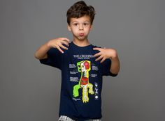 J!NX : Minecraft Creeper Anatomy Youth Tee - Clothing Inspired by Video Games & Geek Culture