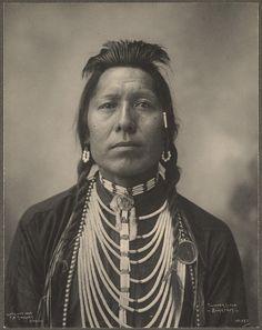 Thunder Cloud, Blackfeet, Rinehart, F. A. (Frank A.) (photographer) 1898 : Omaha, Neb.); Indians of North America; Algonquian Indians