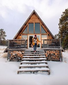 Reposting Destinationdam Winter Cabin Cozy Cottage Snow Chalets