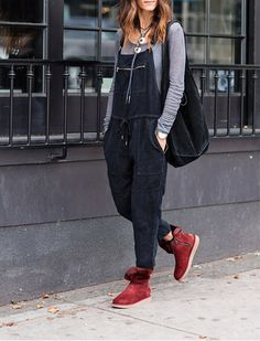 5+Ways+to+Wear+Winter+Boots+Without+Looking+Like+a+Snowman via @PureWow