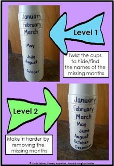 Classroom Freebies: January, February, March, April ... Teaching the Months of the Year