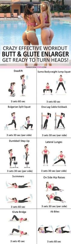 Repin and share if this workout gave you a massive booty! Read the post for all the info! https://www.musclesaurus.com/