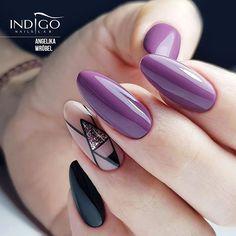 Romantica Indigo Nails, Lipstick Collection, Gel Nails, Manicures, Nails Inspiration, Nail Art, Romantic, Makeup, Aga