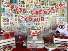Trisha H's Birthday / Target Store - Photo Gallery at Catch My Party Golden Birthday, 35th Birthday, Girl Birthday, Happy Birthday, History Of Birthdays, First Birthdays, Birthday Party Decorations, Birthday Parties, Birthday Ideas