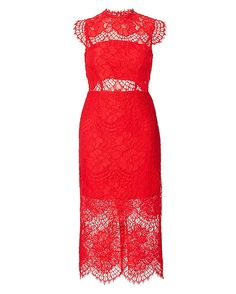 Shop the Alexis Lila Lace Midi Dress & other designer styles at IntermixOnline.com. Free shipping +$150.