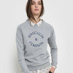 Organic Cotton Masculin # Feminin Sweatshirt