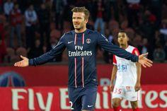 David Beckham for Paris Saint-Germain | Pictures here