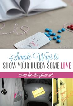 SUCH cute ideas!! Quick AND Easy!