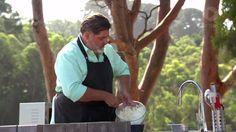 MasterChef Australia Matt's MasterClass: Self-Saucing Chocolate Pudding and Ice Cream Bread