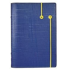 Apex Personal Organizer (by Filofax) - like the contrasting elastic strap with matching grommets