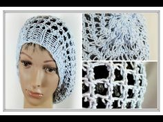 Three Step Stitch Slouchy Hat on any Extra Large Knitting Loom - YouTube