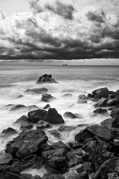 Black and White Photography by Francesco Gola pinned with Bazaart