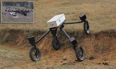 SwagBot all-terrain robot is meant for rural life Best Router, Modern Farmer, Cool Robots, Radio Wave, Up And Running, High Speed, Cattle, Tractors, Science