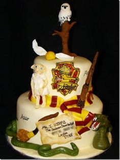 Harry Potter and the Chamber of Secrets Cake