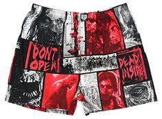 The Walking Dead Mens Dead Inside Boxer Shorts (Large)