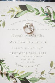 Enchanting Cape Cod Winter Wedding - WeddingLovely Blog