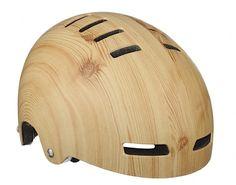 Fahrradhelm im Holzdesign | wildcrumbs