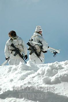 Buy or license direct from the photographer this stunning image of : Israel , Hermon Mountain Israeli Soldiers On Patrol