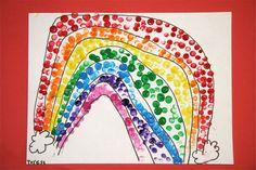 Splish Splash Splatter: Rainbow Finger Painting