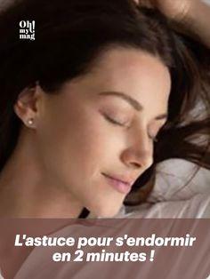 Vous êtes en manque de sommeil ? Voici la technique pour s'endormir en 2 minutes chrono ! Minute, Voici, Sport, Deporte, Excercise, Sports, Exercise