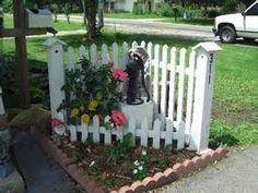 corner landscaping fence - Bing Images