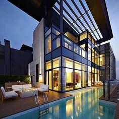 Modern home in Shenzhen, China  Follow @vistale for more! @vistale @vistale -- By Kokaistudios ©