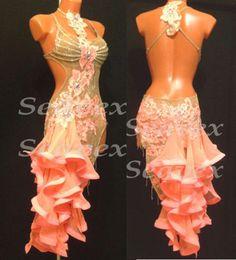 Ballroom Multi-Color Sexy Latin Cha Cha Ramba Samba UK12/US10 Dance Dress#L2031 in Clothing, Shoes & Accessories | eBay